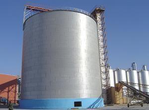 泰山大型螺旋钢板仓